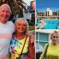 Brit couple who died suddenly in Egypt complained of 'musty smell' in room hours before their deaths, inquest hears