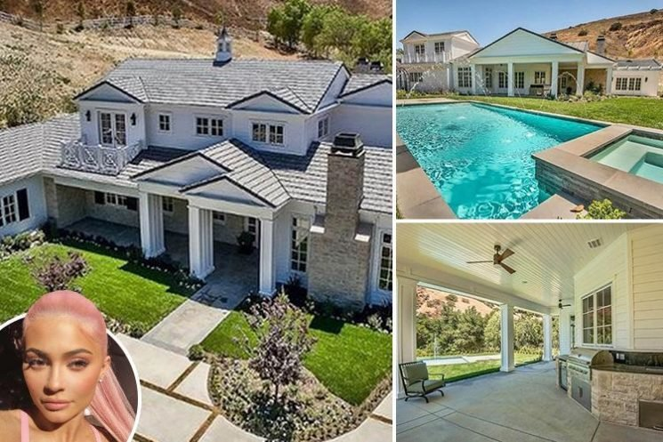 Kylie Jenner sells her 'spare' Hidden Hills home and plot of land for £9million