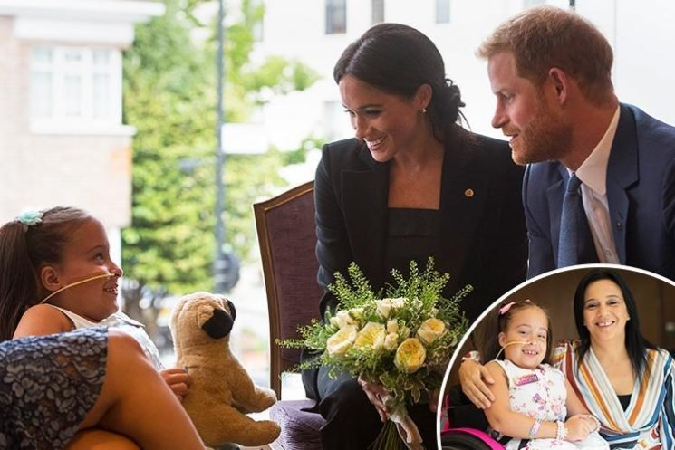 Mum of little girl whose picture with Meghan Markle and Prince Harry touched hearts reveal what royal couple said