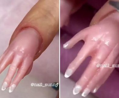You can now get nail art of a perfectly manicured hand… and we can't wrap our heads around it