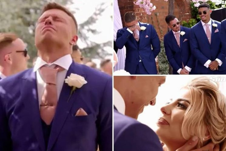 Love Island's Alex Bowen cries as he sees Olivia Buckland walking down the aisle in teaser clip for new show