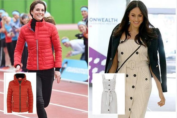 Supermarkets including Tesco and Asda launch dupes of Kate Middleton and Meghan Markle's designer outfits… and they cost from £18