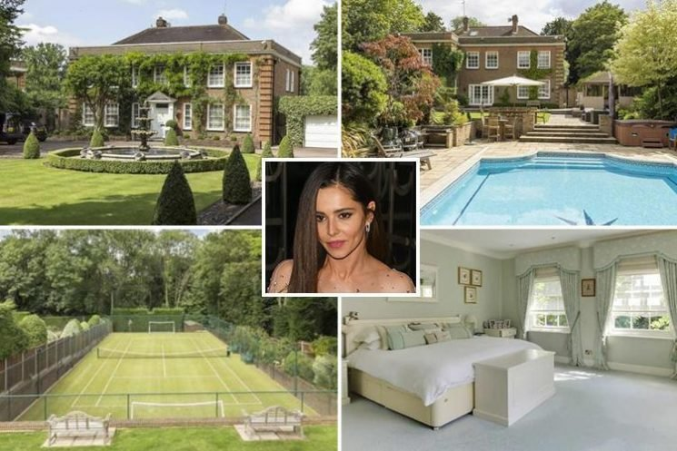 Cheryl finally 'moves out of Liam Payne's mansion' and eyes up swanky £3.75m house with swimming pool and tennis court