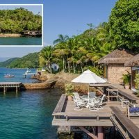 Stunning pics reveal paradise private island complete with luxurious mansion, boathouse and four bungalows on sale for £1.9million