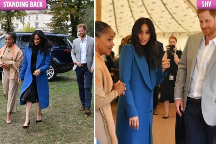 Shy Prince Harry is 'intimidated' by 'power couple' Doria Ragland and Meghan Markle, body language expert Judi James reveals (AM)