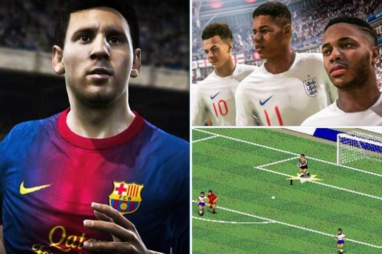 Fifa through the ages: From its first edition to its latest incarnation, Fifa is the best-selling sports video game franchise the world has ever seen