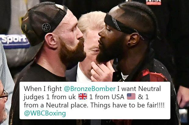 Tyson Fury reveals demands for Deontay Wilder title fight in Las Vegas ahead of expected announcement