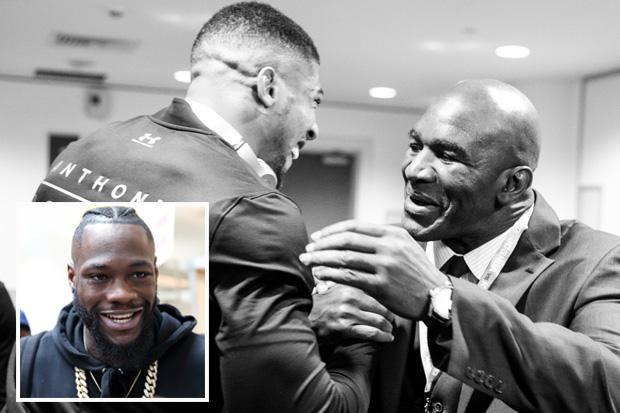 Former world champion Evander Holyfield desperate to see Anthony Joshua vs Deontay Wilder