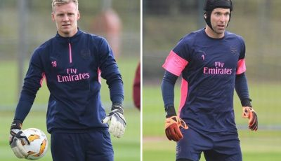 Arsenal news: Bernd Leno to replace Petr Cech in goal for Gunners' Europa League clash against Vorskla