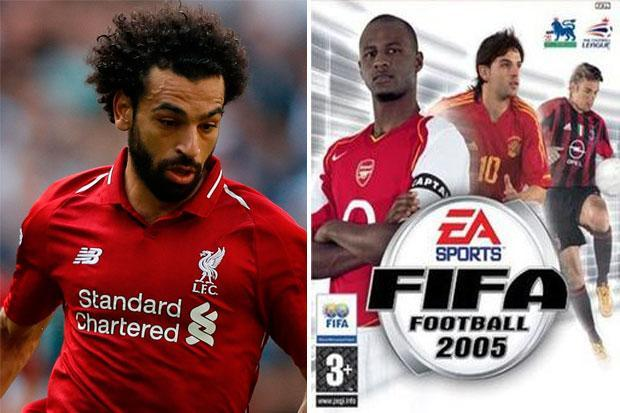 Mohamed Salah reveals he would play only as Liverpool on Fifa 2005… and which four players he always picked