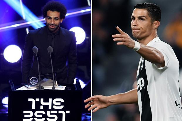 Cristiano Ronaldo gives incredibly bitter response to Mohamed Salah's Merseyside derby strike winning Puskas Award