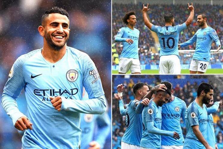 Cardiff 0 Manchester City 5: Aguero, Silva, Gundogan and a Mahrez double pile more misery on the winless Bluebirds