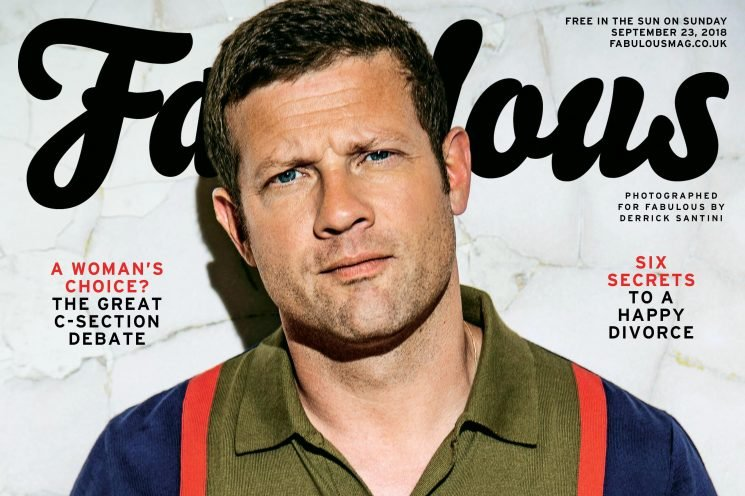 Talking Robbie, romance and why the X Factor still reigns supreme, Dermot O'Leary is this week's Fabulous cover star