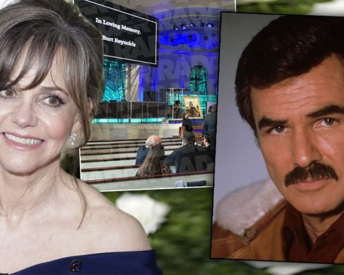 Sally Field Attends Ex-Lover Burt Reynolds' Private Funeral