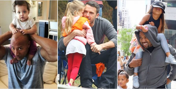 20 Pics Of Celeb Dads With Their Kids That Totally Melt Our Heart