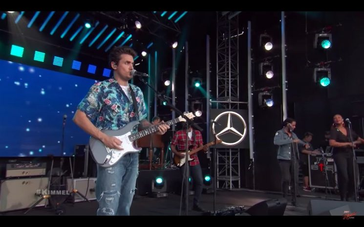 Watch John Mayer Bring Soulful 'New Light' to 'Kimmel'