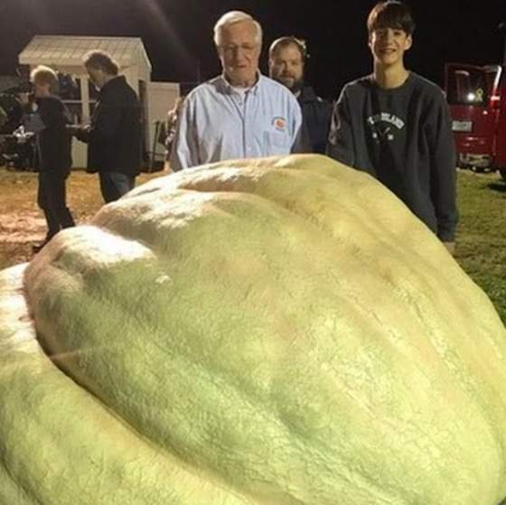 Open Post: Hosted By The Biggest Pumpkin In North American History