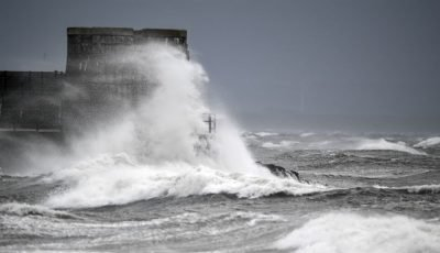 Storm Ali Claims First Victim As Woman Is Blown Off Cliff