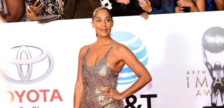 Tracee Ellis Ross Reveals Lovely Legs Poolside On Instagram In All-White For Labor Day Weekend