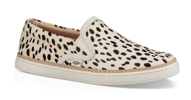 Give Your Looks a Chic, Wild Touch With These Ugg Slip-On Sneakers