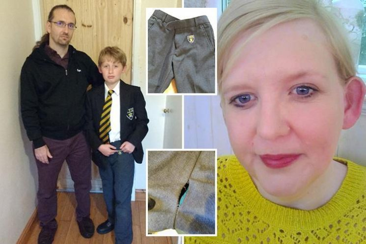 Parents reveal debt woes of struggling families forced to shell out FIVE times as much for 'poor quality' branded school uniform