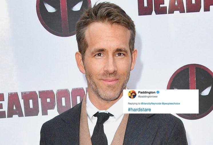 Ryan Reynolds & Paddington Bear's Twitter Feud Is The Most Random Thing You'll Read Today