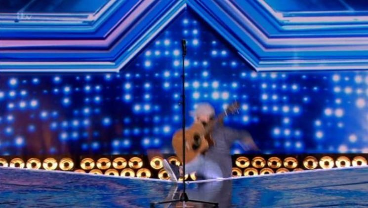 X Factor fans left crying with laughter as hopeful Tommy Ludford FALLS off the stage during Six Chair Challenge