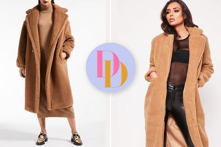 Miss Pap is selling a £60 coat which looks just like MaxMara's £1,780 version – can you tell the difference?
