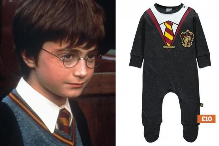 Matalan is selling the cutest Harry Potter sleepsuit for just £10 – and it even has a CAPE