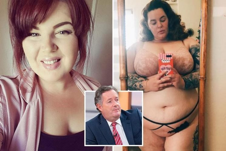 Piers Morgan was RIGHT to fat-shame Tess Holliday because obesity shouldn't be celebrated – I'm 20st and a size 24 because I eat too much
