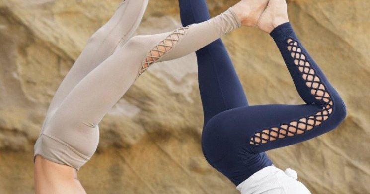 These Lace-Up Leggings From Celebrity-Loved Alo Yoga Are Worth the Splurge