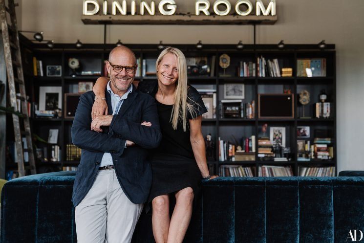 Inside Alton Brown and Fiancée Elizabeth Ingram's Chic Georgia Loft That Brought Them Together