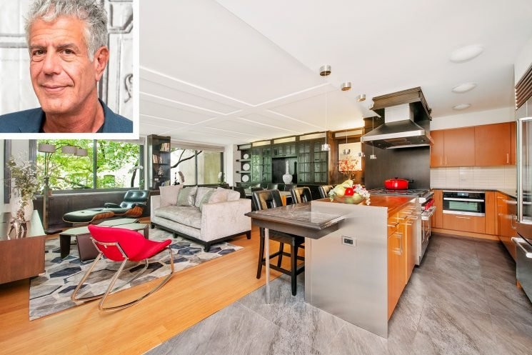 Anthony Bourdain's N.Y.C. Condo That He Owned With Ex Ottavia Busia Is for Sale for $3.7 Million