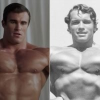 Lookalikes! See the Australian Bodybuilder Playing a Young Arnold Schwarzenegger in New Movie