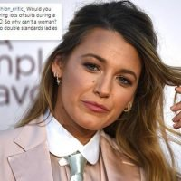 Blake Lively had the BEST response to a troll who dared to criticise her stunning pink suit