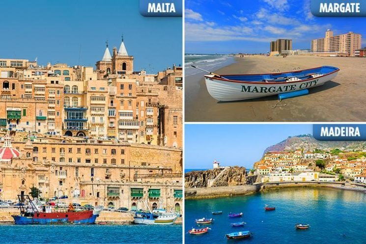 From Malta to Margate, the destinations your gran would haveholidayed in – that are now becoming super cool