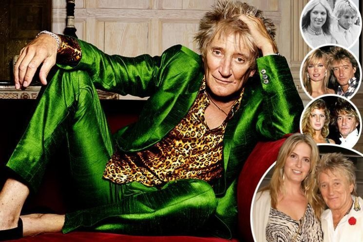 Rod Stewart on finally finding happiness with no nonsense 'Essex girl' Penny Lancaster after romances with two Americans and a Kiwi