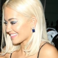 Rita Ora Stepped Out in a Completely Sheer Dress That Was Basically One Giant Nip-Slip
