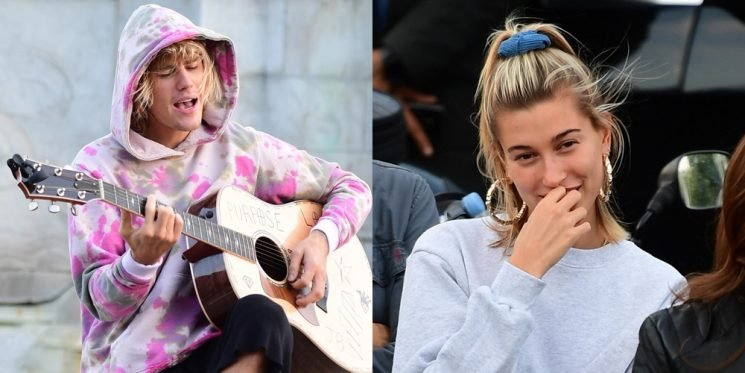Justin Bieber Serenades Hailey Baldwin with Outdoor Performance at Buckingham Palace!