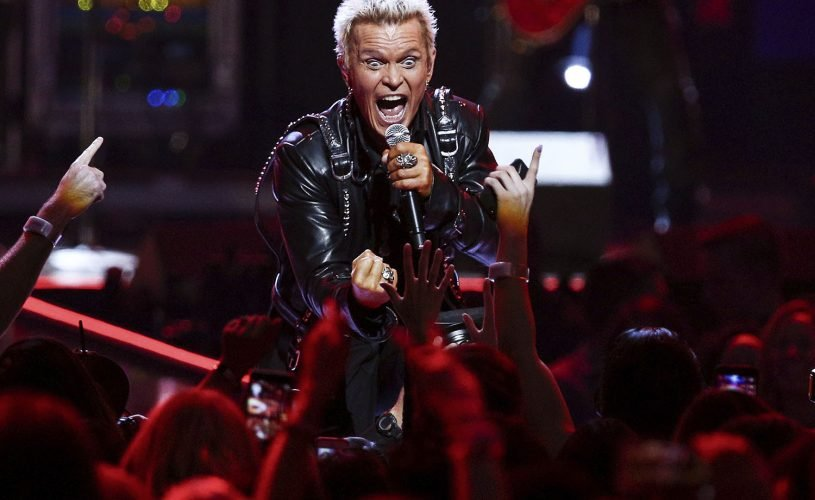 Billy Idol returning for second Las Vegas residency