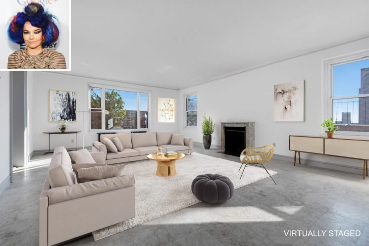 Björk Selling 3,000 Square Foot Penthouse in Brooklyn for $9 Million