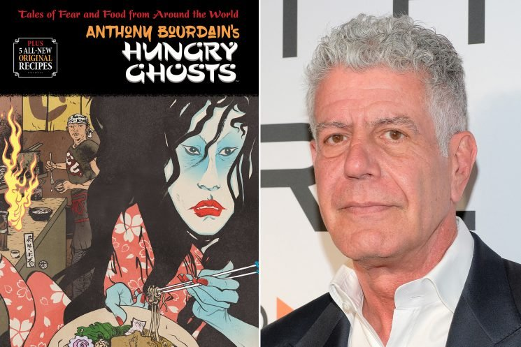 Anthony Bourdain's return to bookstands isn't what you'd expect