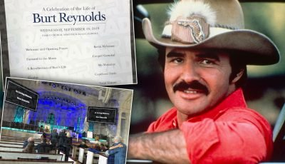 Burt Reynolds Laid To Rest In Private Funeral: See Heartbreaking Photos