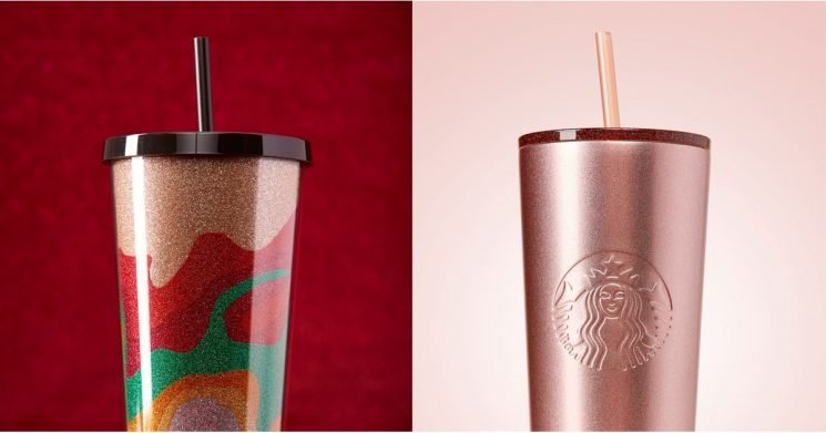 """Starbucks' New Holiday Tumblers Will Have You Saying, """"Halloween, Who?!"""""""