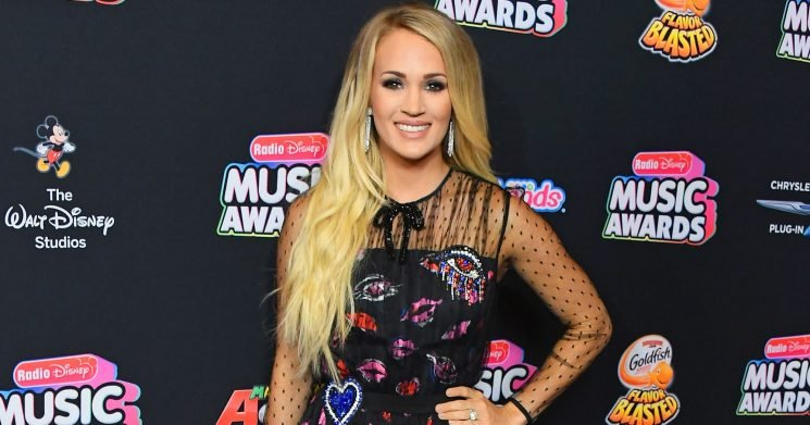 Carrie Underwood Shows Glimpse of Baby Bump in New Music Video