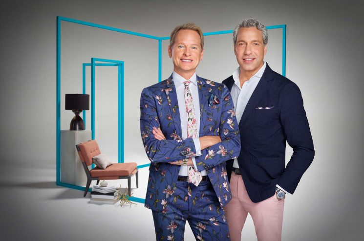 WATCH: Original Queer Eye Guys Carson Kressley and Thom Filicia Have a Hilarious New Design Show