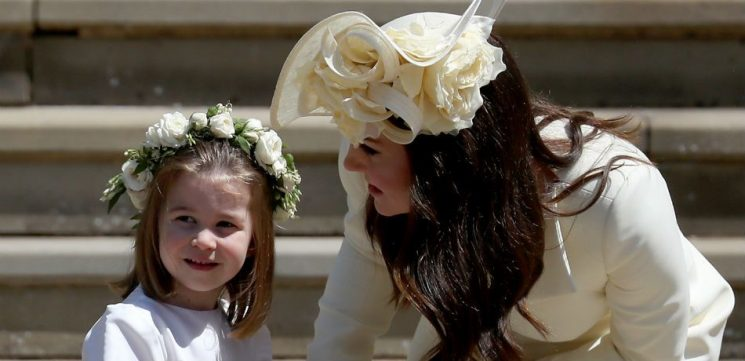 The Adorable Way Princess Charlotte Makes Guests Feel Welcome