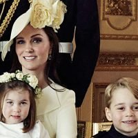Prince George & Princess Charlotte Are Too Cute For Words As Pageboy & Flower Girl At Wedding — Pics
