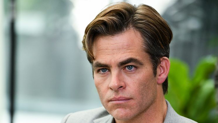 Chris Pine on Going Full Frontal in 'Outlaw King'