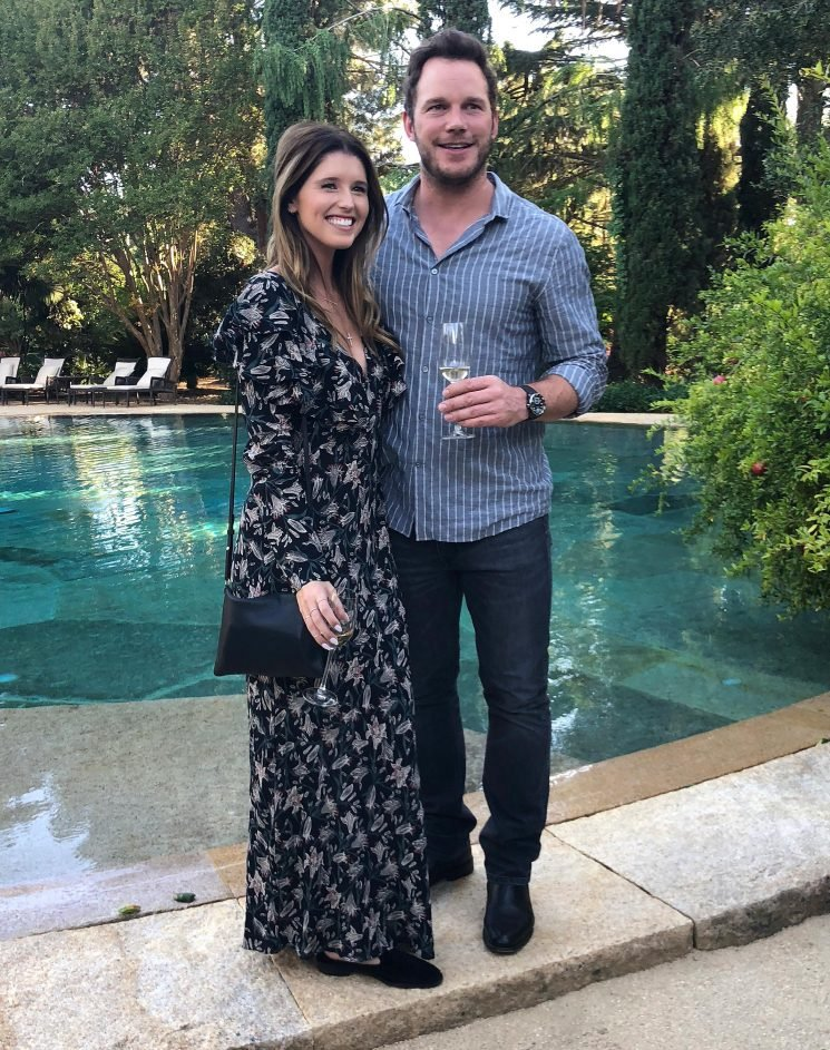 Chris Pratt and Katherine Schwarzenegger Are All Smiles During Trip to Napa Winery